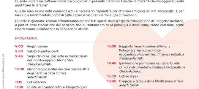 Giornata di cardiologia Cardiec/Elanco sulla Valvulopatia Mitralica